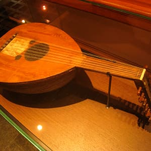 Oud, a guitar-like instrument