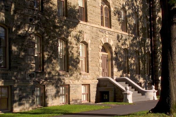 White Hall exterior