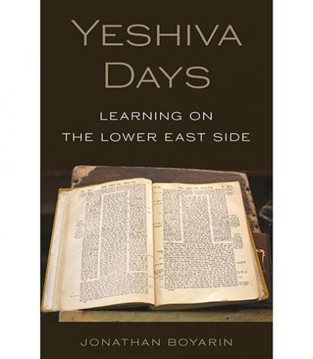 """Yeshiva Days: Learning on the Lower East Side"" book cover"