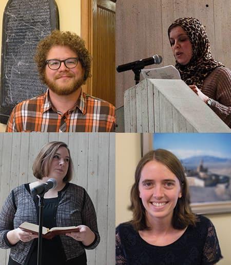 Graduate students: Cale, Kiley, Rama, Kirsten